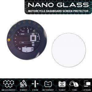 YAMAHA XSR700 / XSR900 NANO GLASS Dashboard Screen Protector