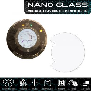Husqvarna Svartpilen / Vitpilen NANO GLASS Dashboard Screen Protector