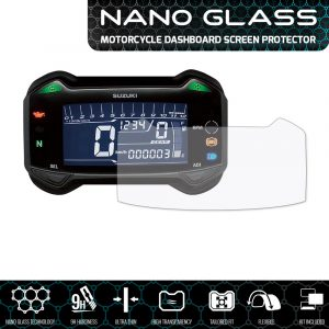 Suzuki GSX250R (2017+) / DL-250 V-Strom (2017+) NANO GLASS Screen Protector