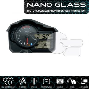 Suzuki V-Strom 650 / 1000 2017+ NANO GLASS Dashboard Screen Protector