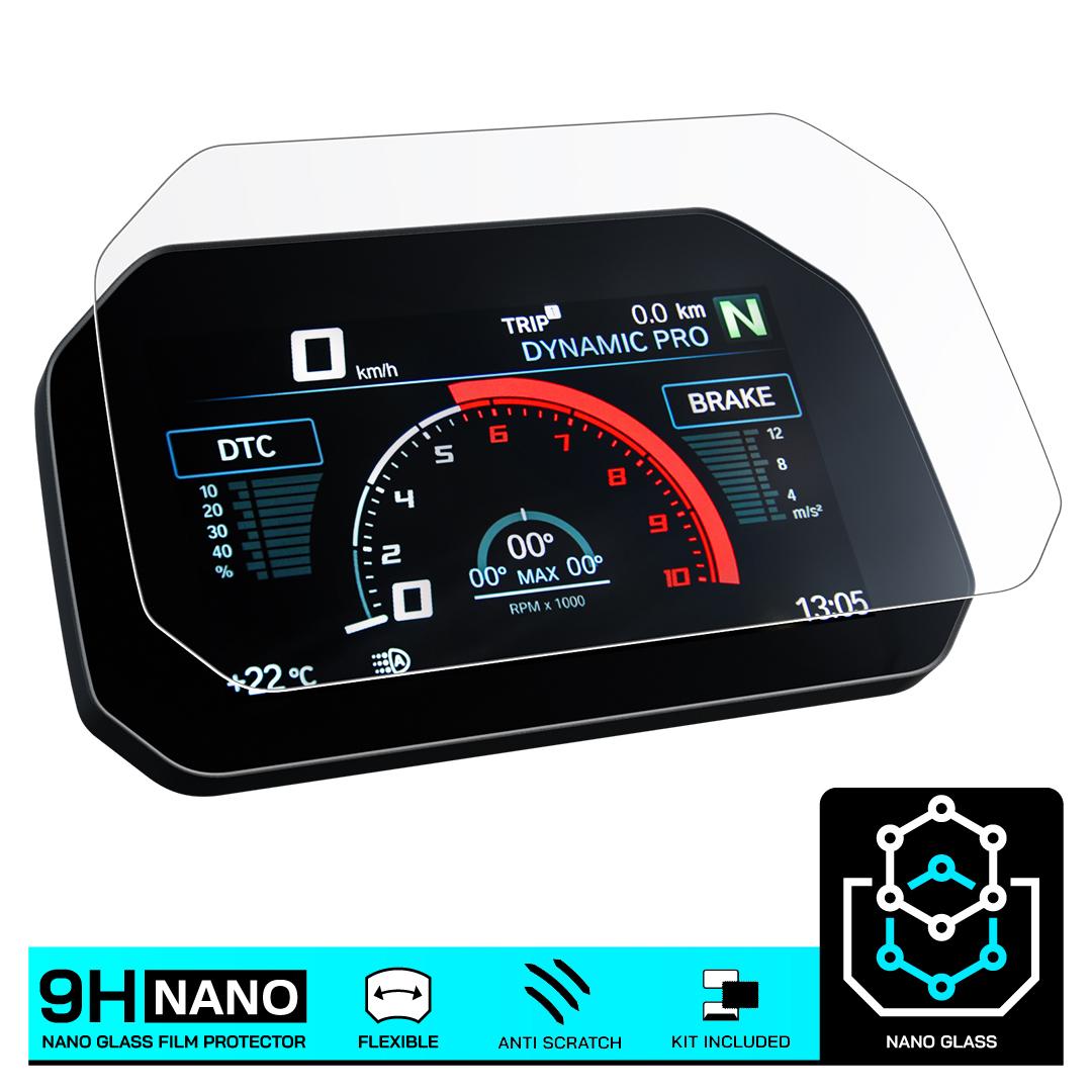 GSX-S1000 2016 Dashboard Screen Protectors 1 x Ultra-Clear /& 1 x Anti-Glare