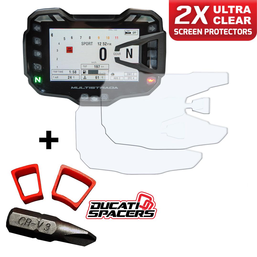 Ducati Multistrada 1260 Throttle Spacer Kit