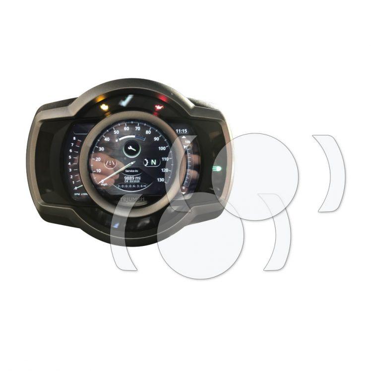 Triumph Scrambler 1200 Dashboard Screen Protector