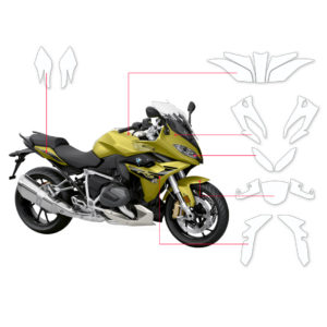 BLOQ Paint Protection Kit – BMW R1250 RS 2019-
